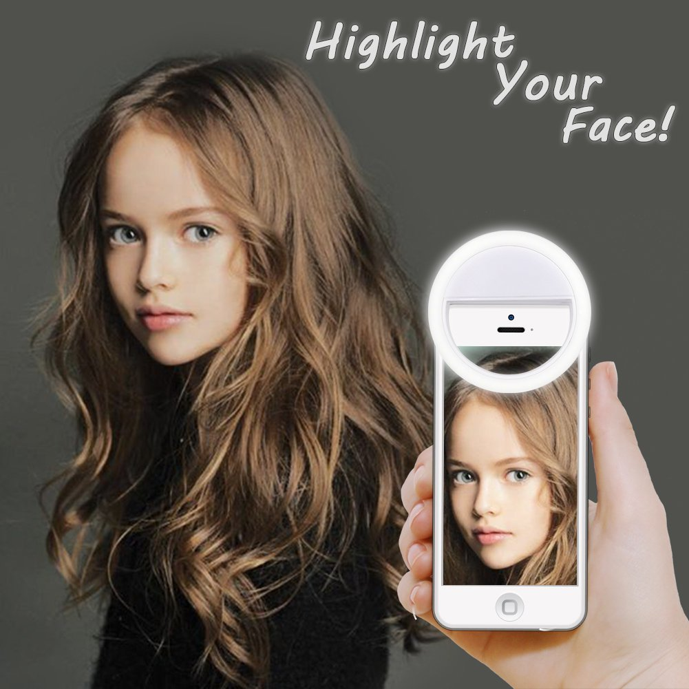 USB selfie light Ring Light LED photographic lighting photo lamps video light photography ringlight photo for phone pc iphone