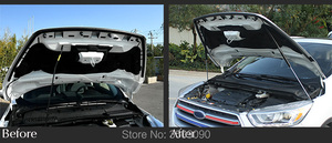 Image 2 - 修理された車のフロントフードカバー油圧ロッドストラットスプリングバー用カースタイリングフォード久我エスケープC520 2013 2015 2017 2019