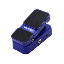Valeton Active Volume Pedal Combine Wah Mods Pedal de efectos de guitarra 2 Performance 2 en 1 Función Foot Switch LED de luz muestra EP-1