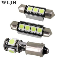 20pcs Cool White Car Canbus Interior Led Light Package For BMW E39 5 Series Touring LED