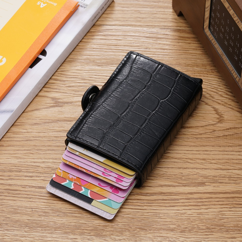 Image 5 - New Card Holder RFID Blocking Aluminium Business ID Credit Card 