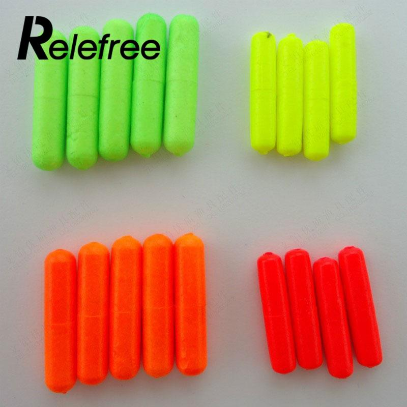 Relefree 100Pcs Outdoor Fishing Float Stops For Bobber Line Grips Floater Carp Tackle Gear Accessories Tool S/M/L Color Random wifreo 30pcs bag soft fake floating tiger nut bait pop ups scorpion carp rig pop up rig big carp fishing tackle s m
