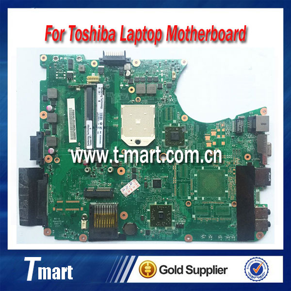 100% working laptop motherboard for toshiba L650D L655D A000076380 DA0BL7MB6D0 system mainboard fully tested