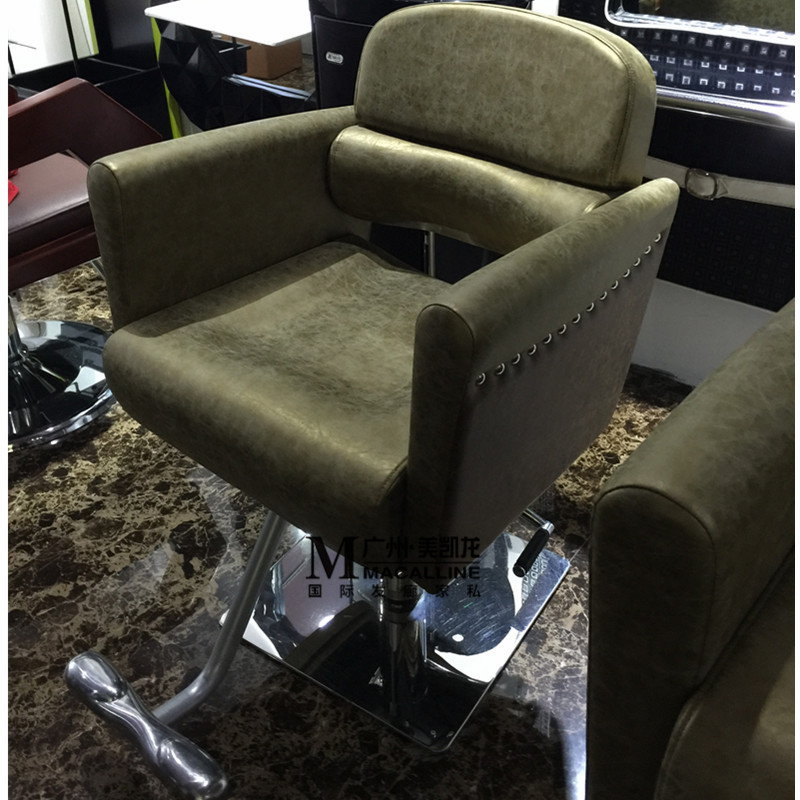 New Luxury European-style Chair. Hair Salons Dedicated Hairdressing Chair. Haircut Chair. Barber's Chair