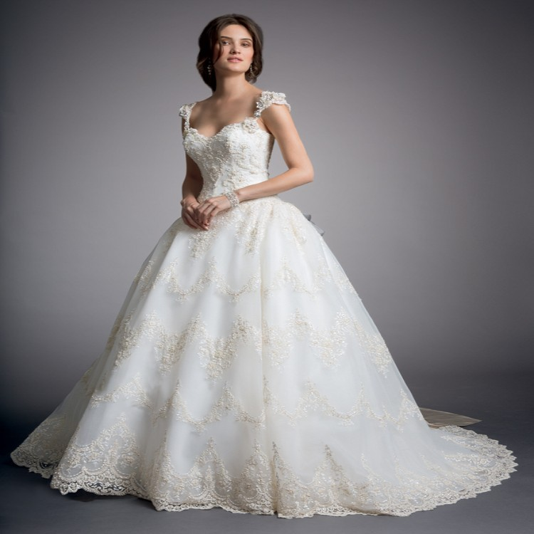 2014 sexy princess ball gown see through corset lace for Cost of a wedding dress