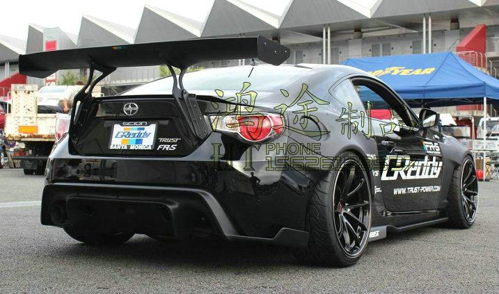 Otomobiller ve Motosikletler'ten Rüzgarlık ve Kanatlar'de Subaru GT86 BRZ modifiye karbon fiber arka kanat arka spoiler kanat Auto super market world