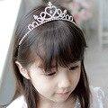Exquisite shining stones children hair hoop children dress up hair ornaments children crown princess crystal headdressET001
