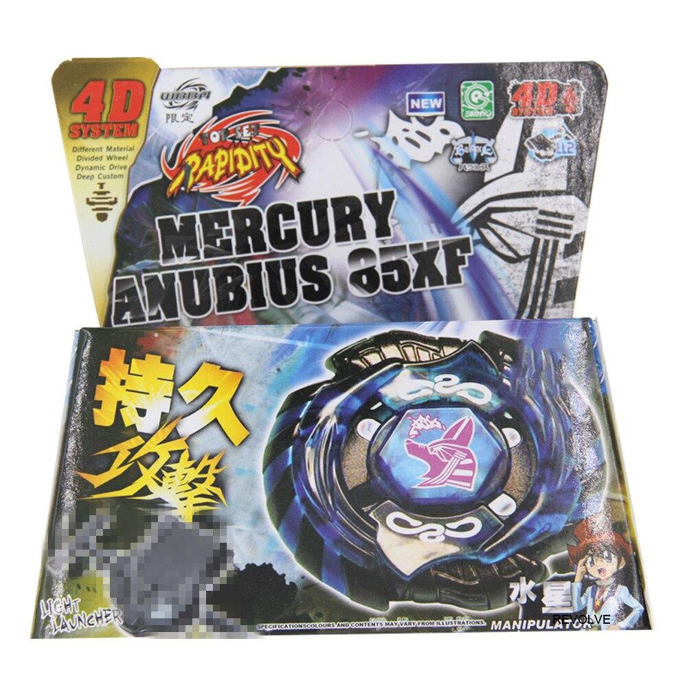 Beyblade Mercury Anubis Anubius Black Blue Legend STARTER SET LAUNCHER RIPCORD