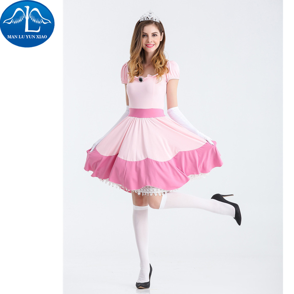 MANLUYUNXIAO Halloween Christmas Costumes Princess Dress Woman Costume Performance Dance Show Costumes Wholesale