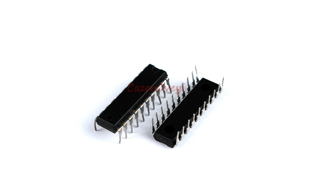 10pcs/lot AT89C2051-24PI AT89C2051-24P MCU 8 <font><b>8051</b></font> 2K Flash new original DIP20 In Stock image