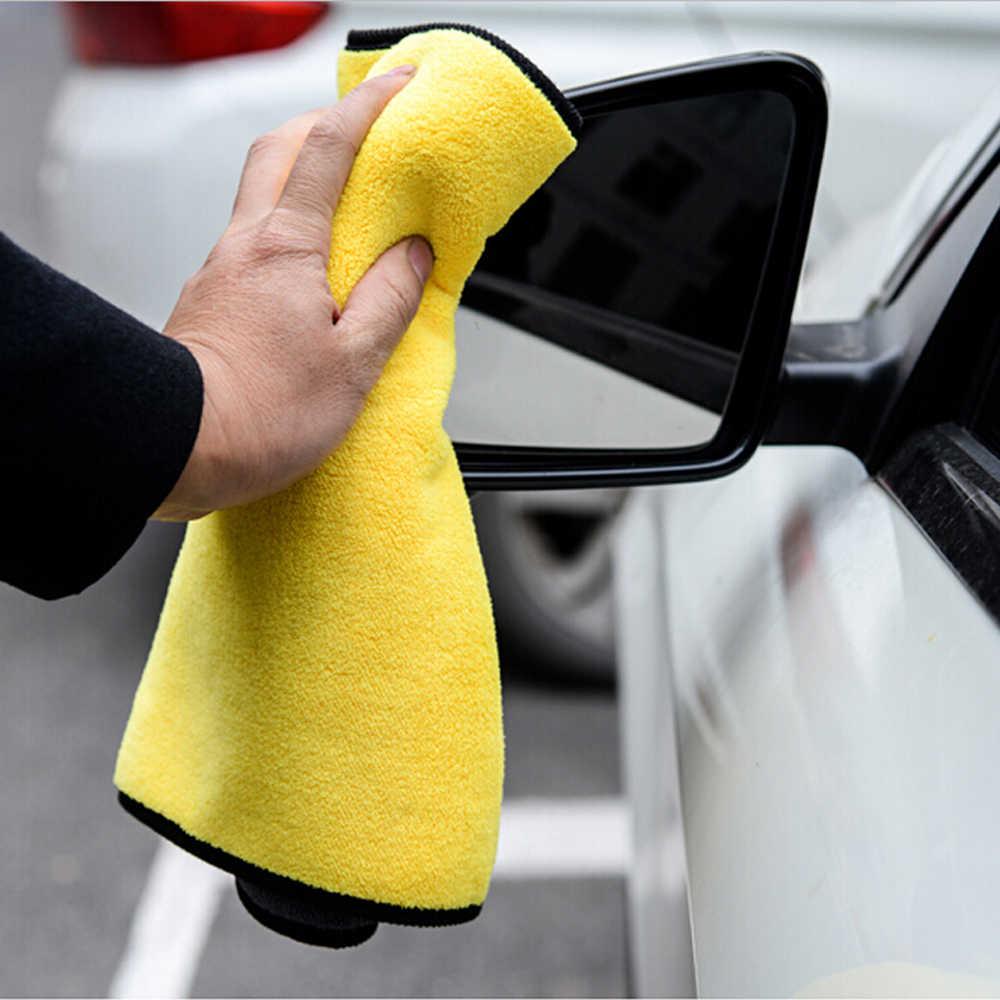 Lavage de voiture serviette en microfibre nettoyage de voiture chiffon de séchage pour mazda 3 siège ibiza honda civic 2006-2011 siège leon toyota corolla 2008