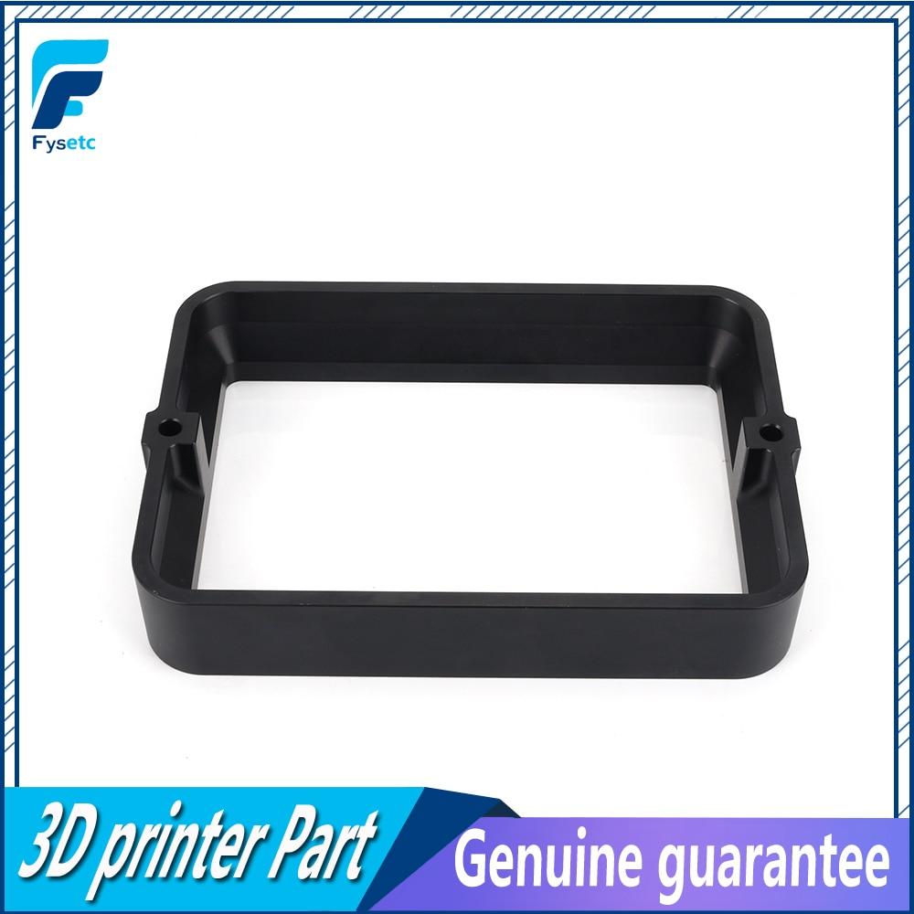 Материал стойки черный для DLP SLA 3d принтер Анодированная Алюминиевая смола НДС стальное кольцо установлен металлический Фотон пленка FEF
