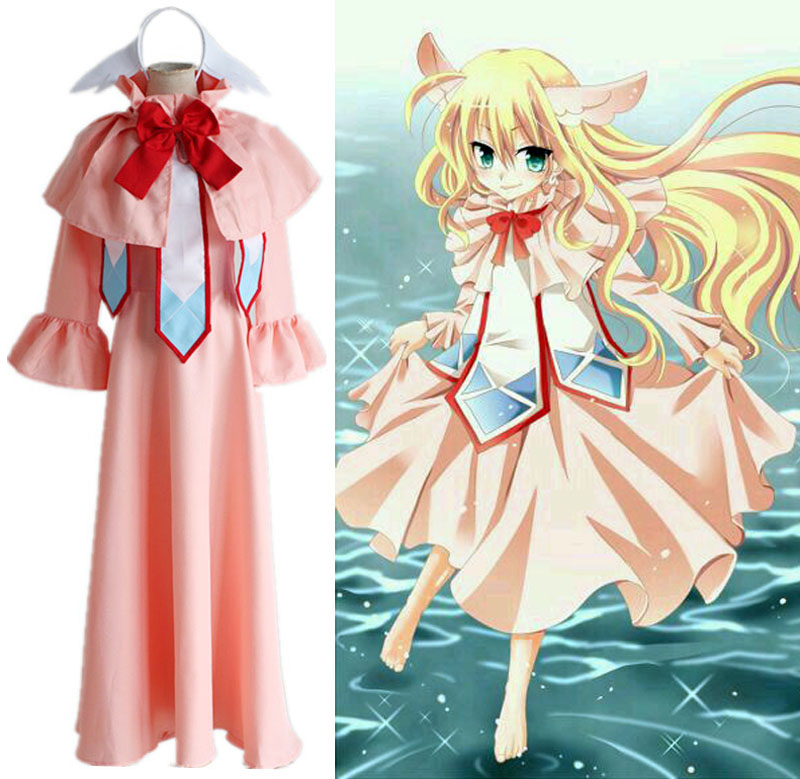 Anime Fairy Tail Mavis Vermilion Cosplay Costume Full Set