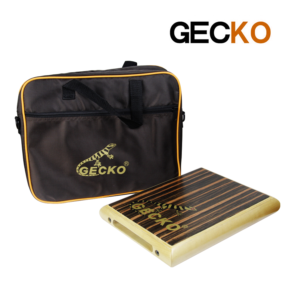 Drum Sports & Entertainment 2019 Fashion Gecko Cajon Pad-1 Zebra Wood Natural 95*230*290mm Birch With The Package Wide Varieties