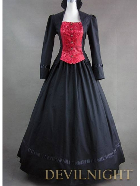 French Victorian Dresses