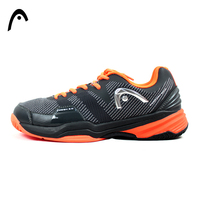 HEAD Man S Tennis Shoes Orange Mesh PU Shock Absorbant Light Weight Professional Tennis Sneakers For