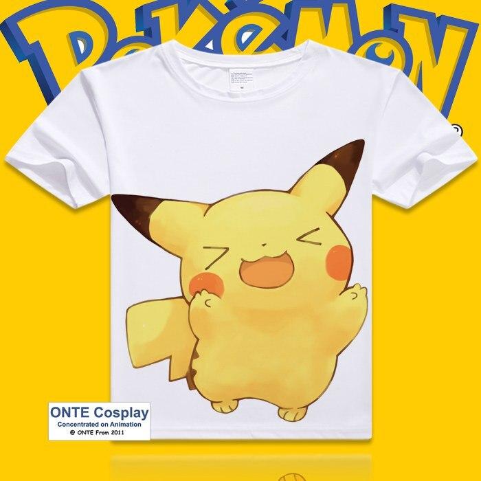 Fashion Games Pokemon Go New T Shirt Pikachu In Thor Armor Funny Cool T-shirts Short Sleeve Printed Tshirt