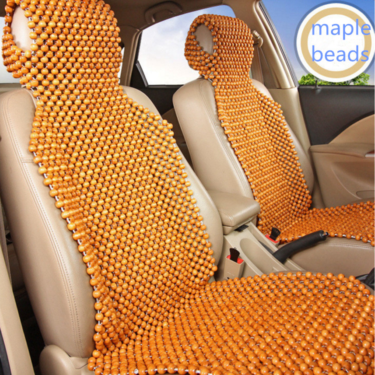 fa7d3a44b5171 1 Piece Car Seat Cover 3 - Color Optional Car Wooden Bead Cushion Natural  Environmental Protection Auto Supplies