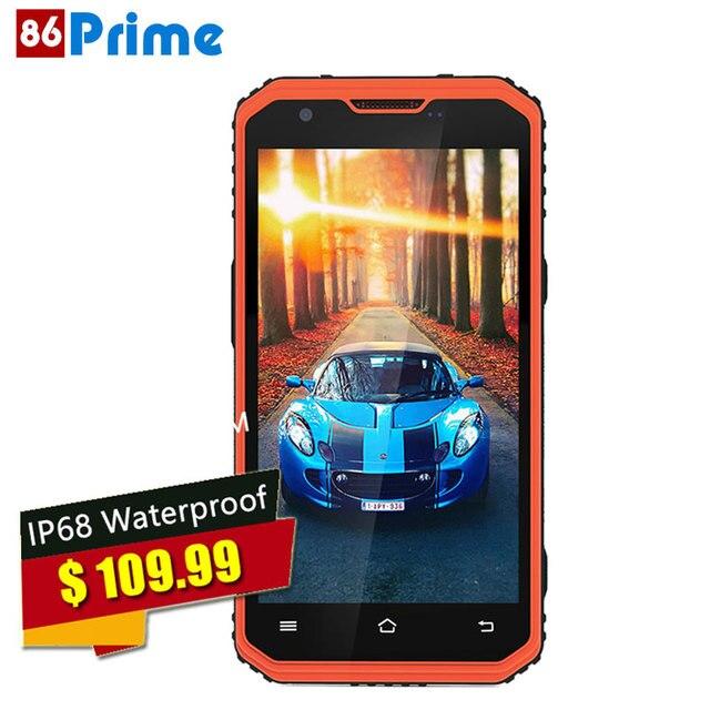Original NO.1 M3 phone Mobile Phone Android 5.1 4G LTE Cellphone 5 inch IPS HD 2G RAM 16G ROM IP68 Waterproof 4500mAh Battery