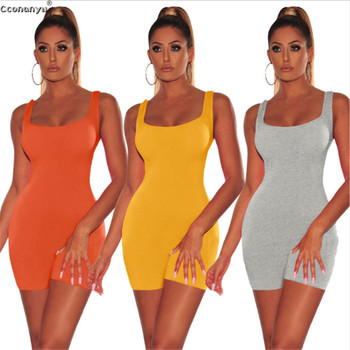 2019 Summer Playsuit Women Short Jumpsuit Sexy Casual Rompers Slim Backless Woman Playsuits and Jumpsuits Skinny Sportswear 1