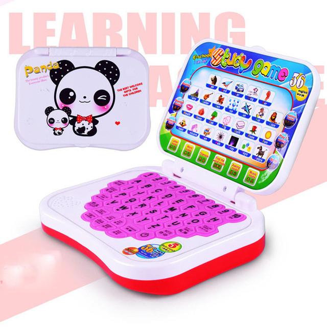 Multifunction Learning Machine English Early Tablet Computer Toy Kid Educational Toys for children learning Reading 17OCT26