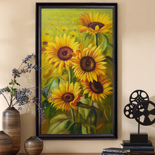 FULL Diamond Embroidery 5D Sunflowers image Home Decor diamond painting mosaic cross stitch canvas 40x70cm unique gift for kids