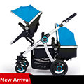 Highview Folding Twins Stroller, Stroller Twins, Brand Stroller, Double Seats Pushchair, Pram for Two Children Buggys