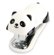 Cute Panda Mini Desktop Stapler&Staple Hand Stapler Office/Home Stapler