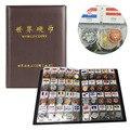 Hot Armazenamento Coleção De Livros de 120 Países e Regiões colecionadores de Moedas Moeda Mundial Com Bandeiras