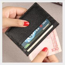 customed initial letters genuine cow leather pebble leather credit card holder men slim ID card wallet purse original evolis r3013 ymcko color ribbon for pebble dualys securion id card printer