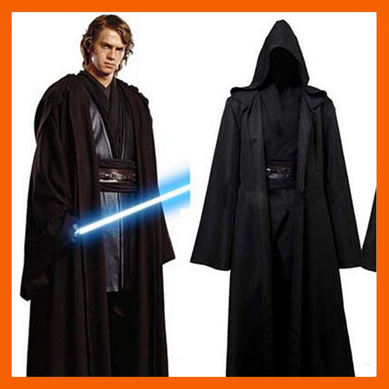 2017 STAR WARS JEDI KNIGHT ANAKIN SKYWALKER UNIFORM COSPLAY COSTUME ANAKIN SKYWALKER / OBI-WAN KENOBI FULL SET COSTUME
