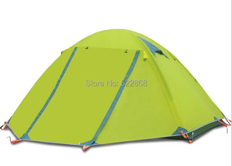High quality double layer aluminum poles 2 person waterproof windproof four seasons camping tent цена