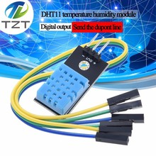 Humidity-Sensor Relative Dht11-Module Temperature Arduino-Diy-Kit with New And Cable