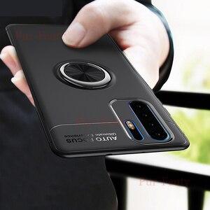 Чехол для Huawei P 30 Pro VOG L29 L04 L09 с магнитным кольцом, Защитный Мягкий силиконовый чехол для Huawei P30Lite MAR LX3 L23 LX3A