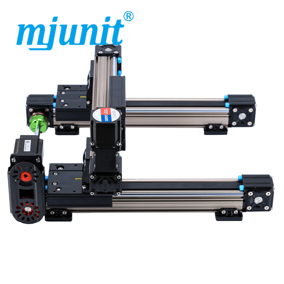 mjunit MJ50 xy Linear motion products linear guide rails with 900x600mm stroke direct mount цена 2017