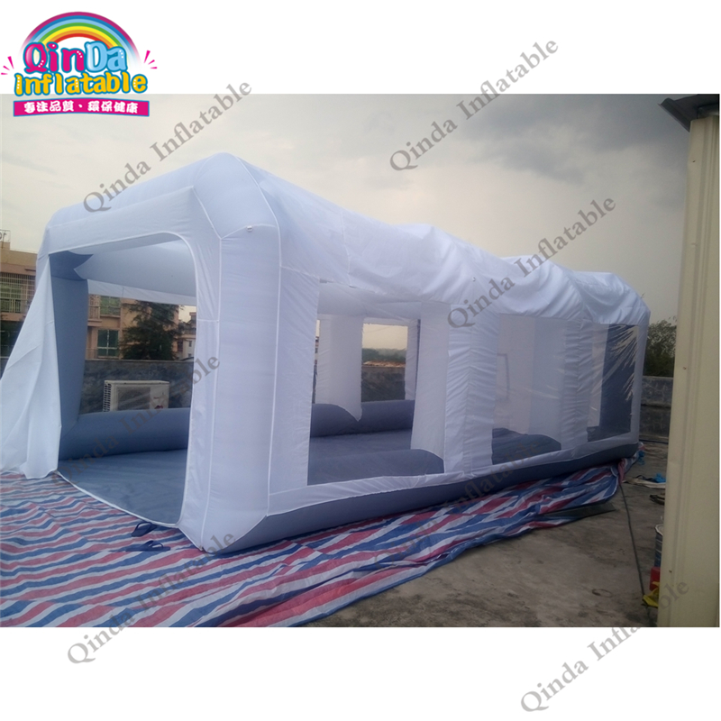 Portable inflatable spray booth tent cabin paint inflatable car spray booth inflatable spray paint booth free shipping inflatable spray paint garage booth tent high quality 8x4 5x3 meters cabine de peinture gonflable toy tents