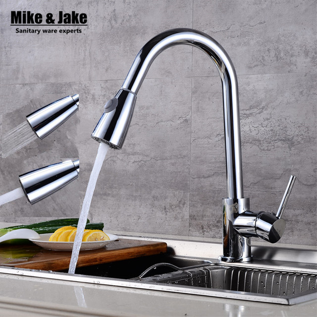 Pull Out Spray Kitchen Faucet Mixer Tap Pullout Sprayer Kitchen