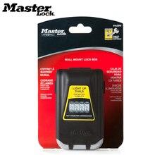Защитный ящик для ключей от Master Lock, открытый настенный ящик для хранения ключей, ночные светящиеся 4 ящика для ключей с паролем 5425D
