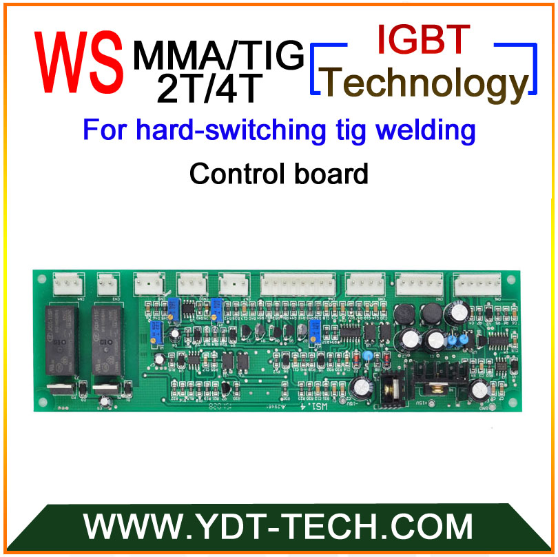WS hard switching control board for TIG/MMA welding machine with 2T/4T functions цена и фото