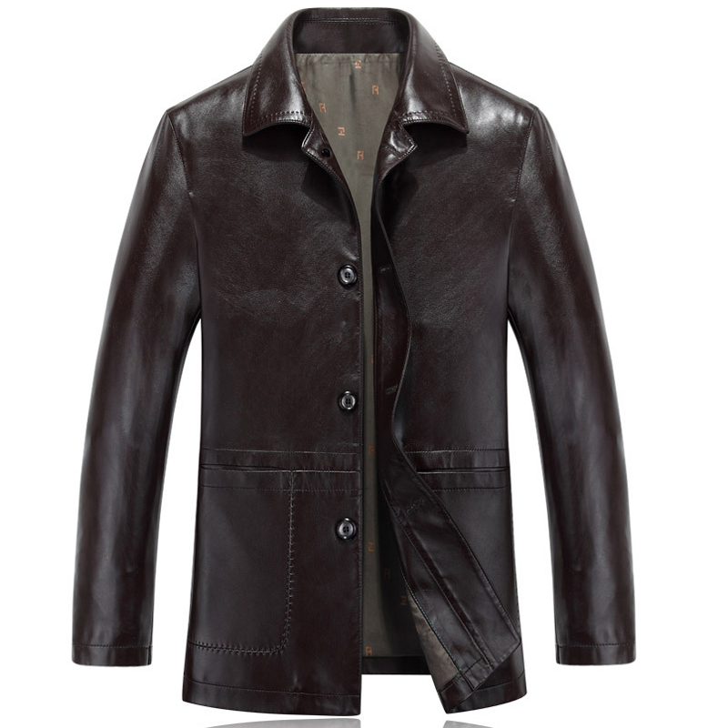 Online Get Cheap Mens Leather Trench Coat -Aliexpress.com