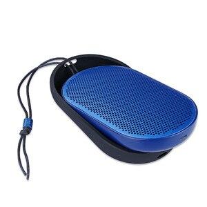 Image 4 - Caso Para Beoplay P2 Bluetooth Speaker Alto falantes Bluetooth Sílica Viagem Transportando Caso Capa Falante Caso o Transporte Da Gota 0309 #2