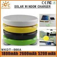 5200 mah Eingebaute Li-polymer batterie tragbare solar-handy-ladegerät/solar handy-ladegerät/solar power bank