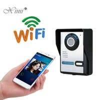 New Arrived Remote Control Mobile Control WIFI TCP Video Door Phone IR Nigh Version IP65 Waterproof Wireless Video Door Phone