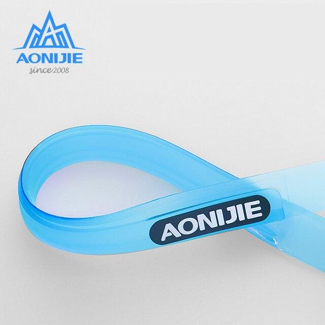 Aonijie E4088 Hair Band Sports Sweat Guide Band Yoga Unisex Adjustable Head Belt Multi-functional Running 4