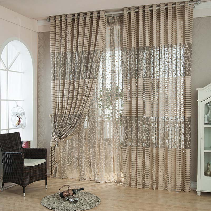 Curtain Set For Living Room - Window Curtains & Drapes