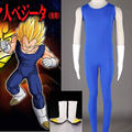 High Quality  Dragon ball z vegeta cosplay costume  vegeta  costume  The 2 generation Men's 3 sets