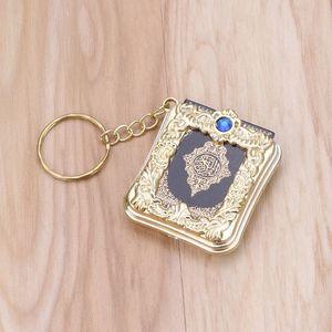 Image 4 - MenMini ארון קוראן ספר נייר אמיתי יכול לקרוא ערבית הקוראן שרשרת מוסלמי תכשיטי מתנת מזכרות