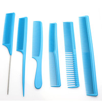 Sharonds Professional hairdresser Combs Set Antistatic Multifunction Hair Comb Modeling Tools Pink Blue Yellow