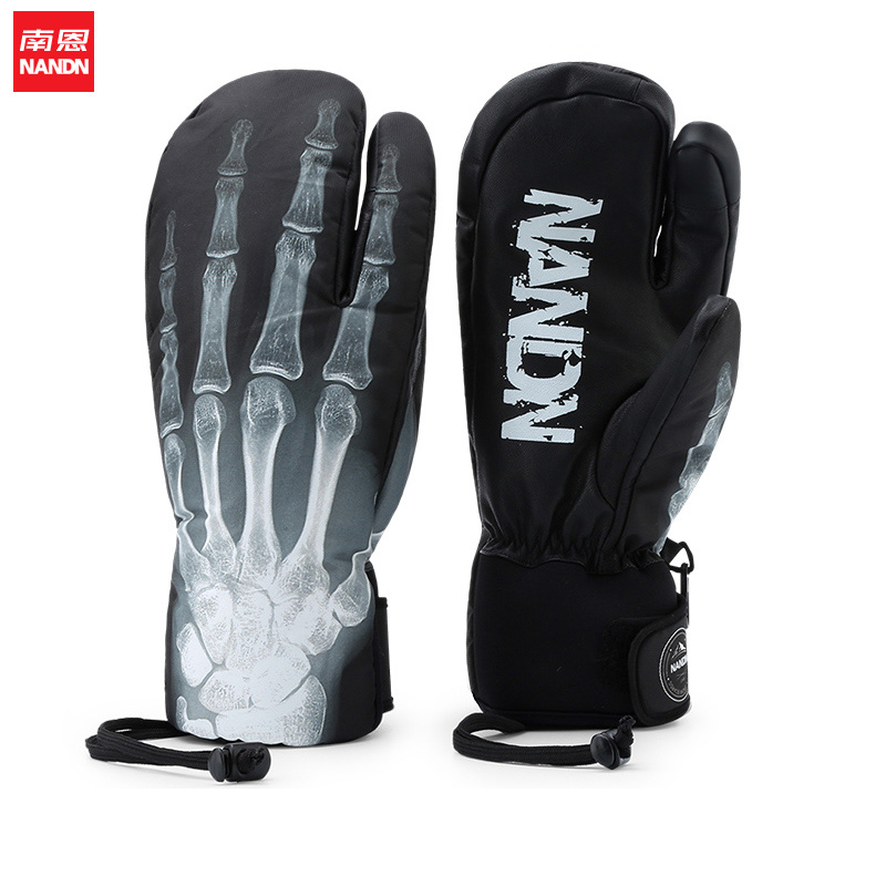 NANDN SNOW Waterproof Ski Gloves Windproof Snowmobile Snowboard Gloves Snow Sport