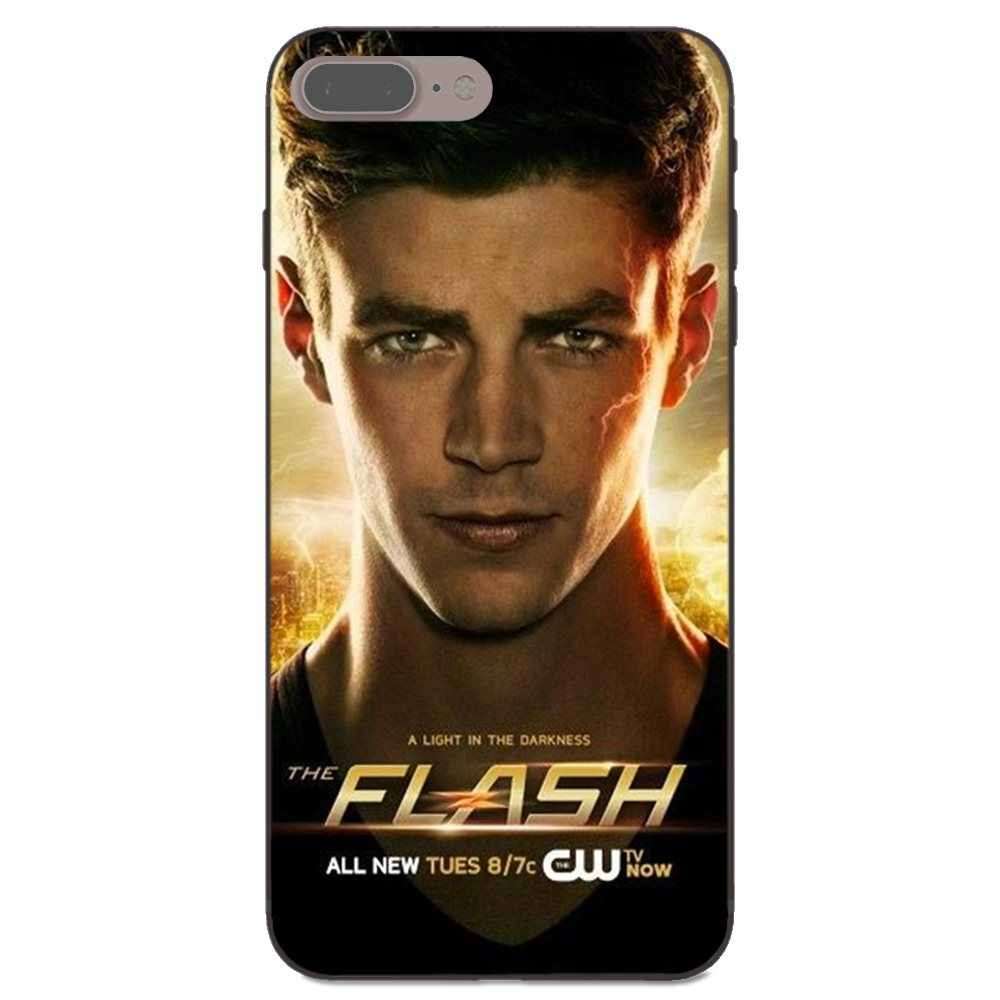 Супергероев флэш Барри Аллен ТВ для Galaxy A3 A5 A6 A7 A8 A9 C7 J1 J2 J5 J6 J7 Core Plus Star Duo Max 2016 2017 2018